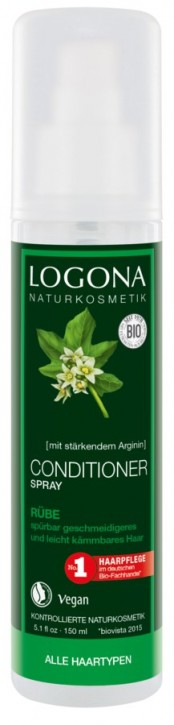 LOGONA Naturkosmetik, Conditioner Spray Rübe - 150 ml