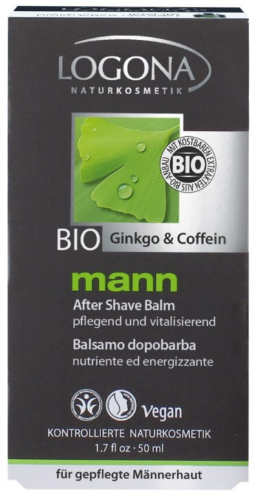 LOGONA Naturkosmetik, mann After Shave Balm - 50 ml