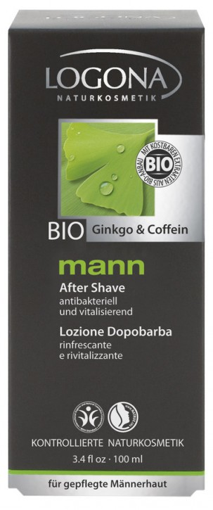 LOGONA Naturkosmetik, mann After Shave - 100 ml