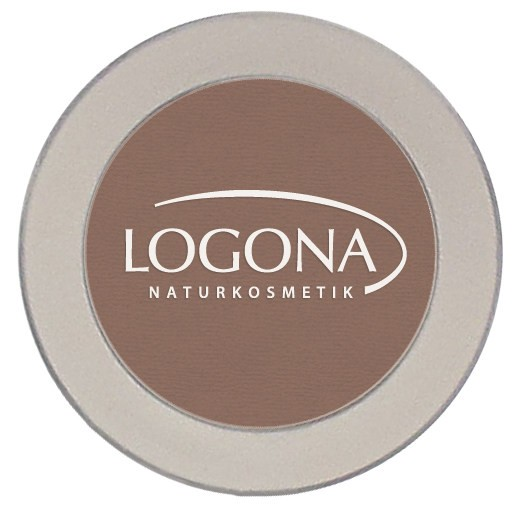 LOGONA Naturkosmetik, Eyeshadow mono No.2 chocolate - 2 g