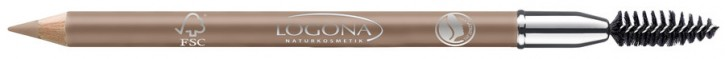 LOGONA Naturkosmetik, Eyebrow Pencil No.01 blonde