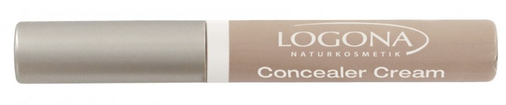 LOGONA Naturkosmetik, Concealer Cream 02 light beige - 5 ml
