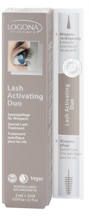 LOGONA Naturkosmetik, Lash Activating Duo - 5 ml