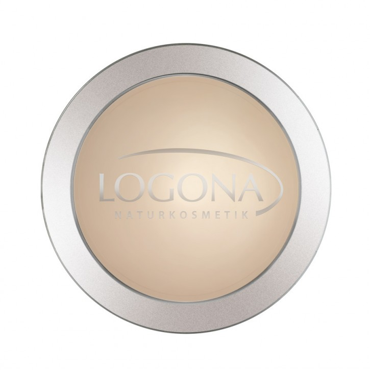LOGONA Naturkosmetik, Face Powder Kompaktpuder 01 light beige - 10 g
