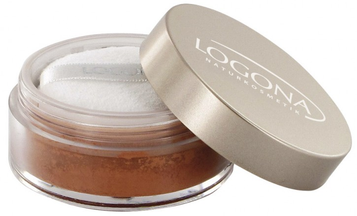 LOGONA Naturkosmetik, Loose Face Powder 02 bronze - 7 g
