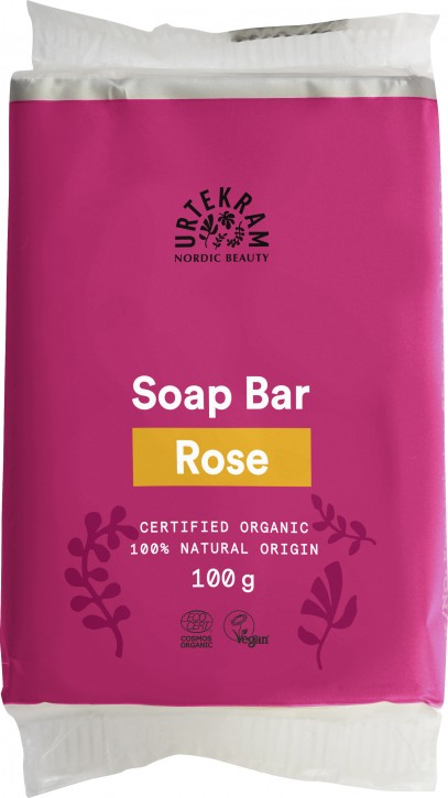 Urtekram, Rose Soap Bar - 100 g