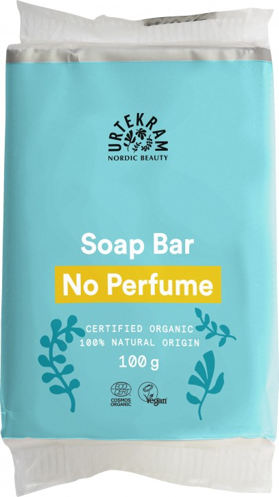 Urtekram, No Perfume Soap Bar - 100 g