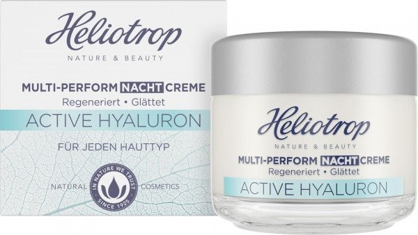 Heliotrop, ACTIVE Hyaluron Multi-Perform-Nachtcreme - 50 ml