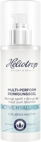 Heliotrop, ACTIVE Hyaluron Multi-Perform Reinigungsgel - 150 ml