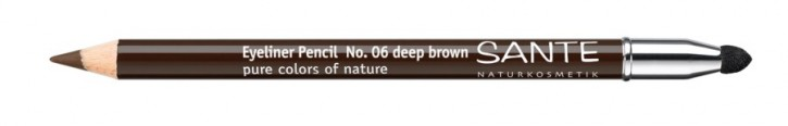 SANTE Naturkosmetik, Eyeliner Pencil deep brown No.06  - 1,3 g