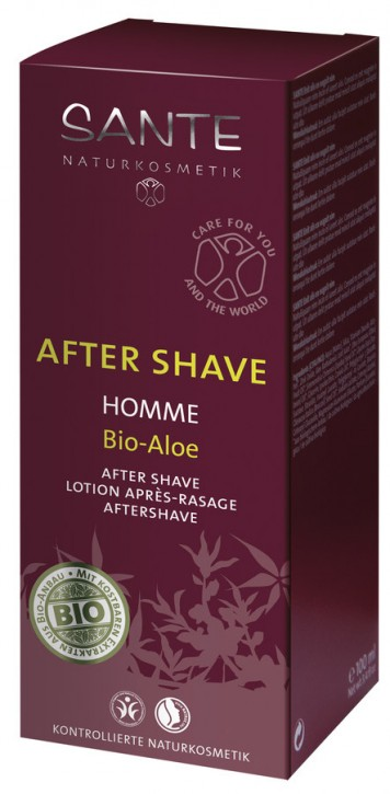 SANTE Naturkosmetik, Homme After Shave Bio-Aloe - 100 ml