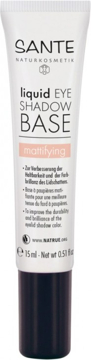 SANTE Naturkosmetik, Liquid Eyeshadow Base mattifying - 15 ml