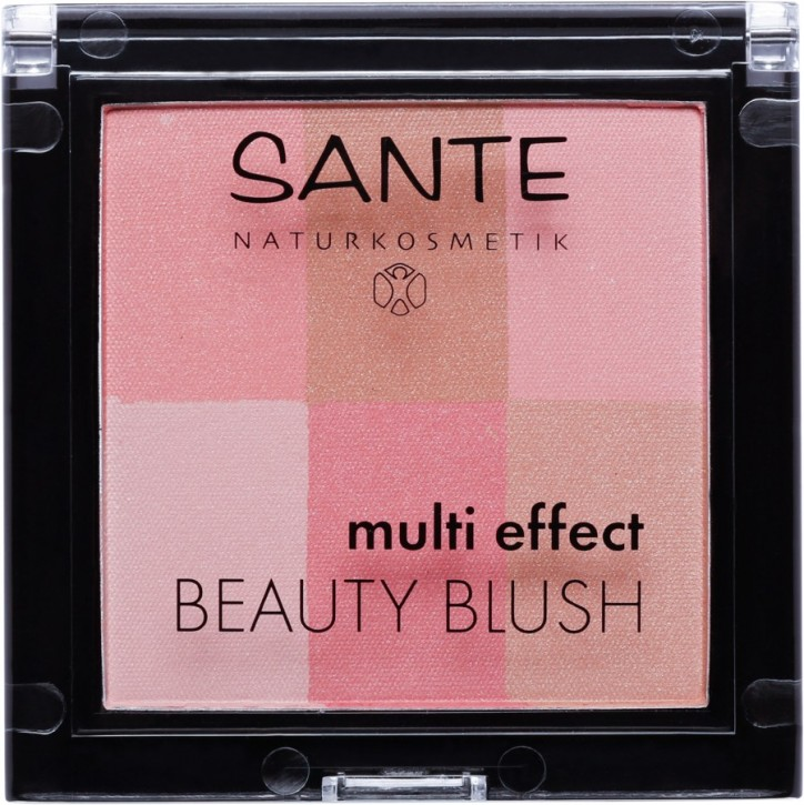 SANTE Naturkosmetik, Multi Effect Beauty Blush 01 coral - 8 g