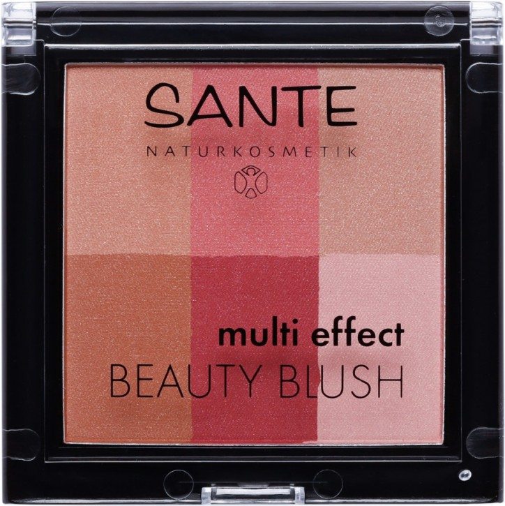 SANTE Naturkosmetik, Multi Effect Beauty Blush 02 cranberry - 8 g