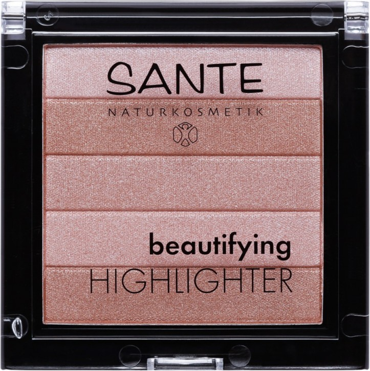 SANTE Naturkosmetik, Beautifying Highlighter 01 nude - 7 g