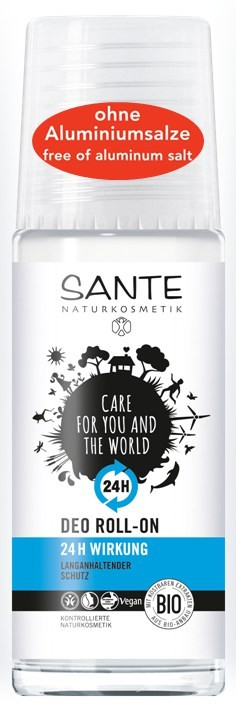 SANTE Naturkosmetik, Deo Roll-on 24 h - 50 ml