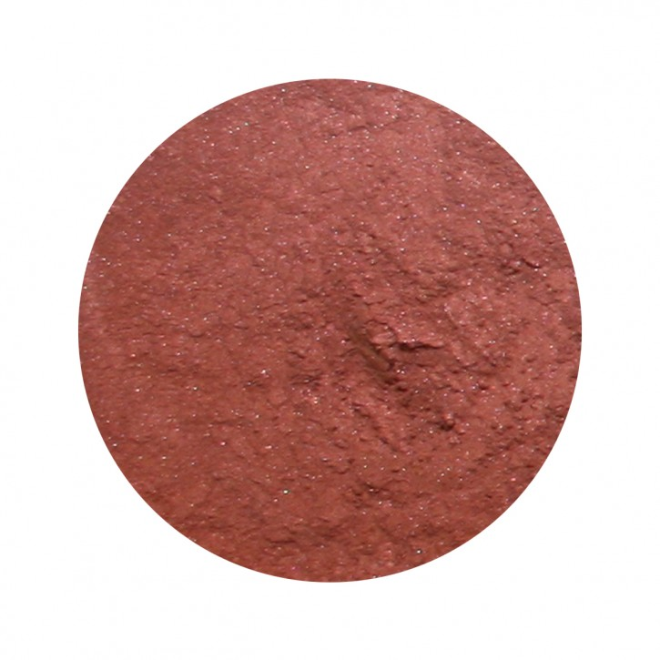 PROVIDA organics, Leicht schimmerndes Rouge Luminous Shimmer Blush Hot Chestnut - 4 g