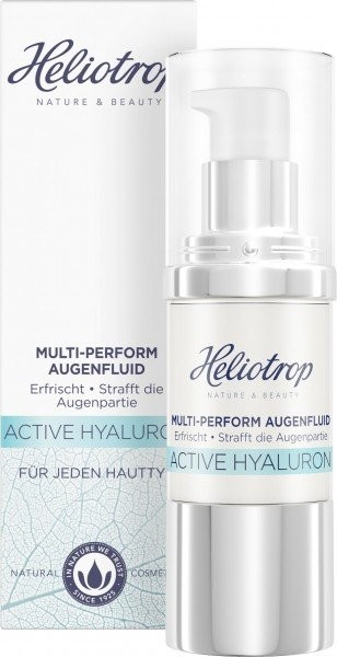 Heliotrop, ACTIVE Hyaluron Multi-Perform Augenfluid - 20 ml