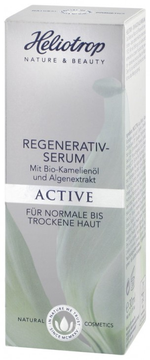 Heliotrop, ACTIVE Regenerativ-Serum - 30 ml