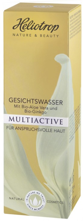 Heliotrop, MULTIACTIVE Gesichtswasser - 125 ml