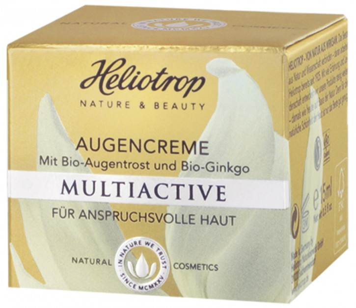 Heliotrop, MULTIACTIVE Augencreme - 15 ml