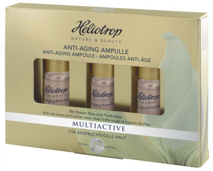 Heliotrop, MULTIACTIVE Anti-Aging Ampulle - 3 x 2,5 ml
