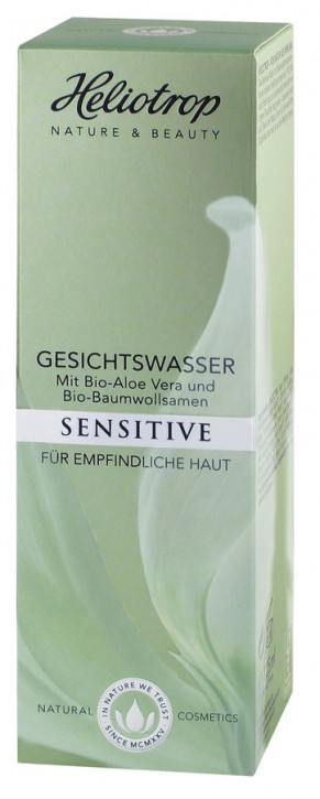 Heliotrop, SENSITIVE Gesichtswasser - 125 ml