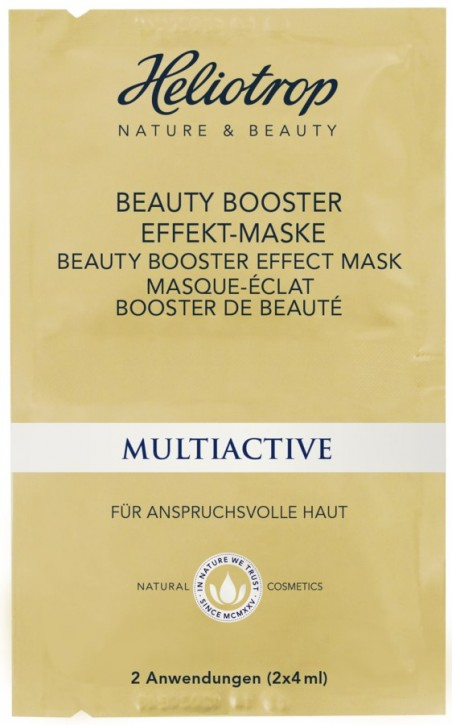 Heliotrop, MULTIACTIVE Beauty Booster Effekt Maske - 8 ml