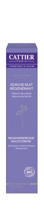 CATTIER Paris, Songe Fleuri Regenerierende Nachtcreme - 50 ml
