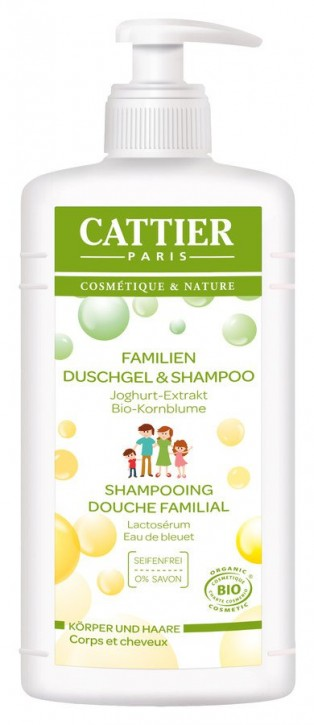 CATTIER Paris, Familien Duschgel & Shampoo - 500 ml