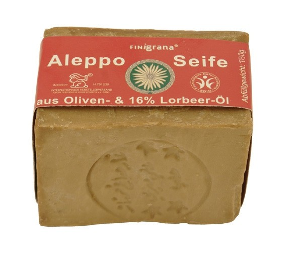 Finigrana, Alepposeife 16% Lorbeeröl - 180 g