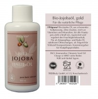 Finigrana, Bio Jojoba-Haut-Öl - 100 ml