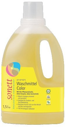 Sonett, Waschmittel Color Mint & Lemon - 1,5 liter