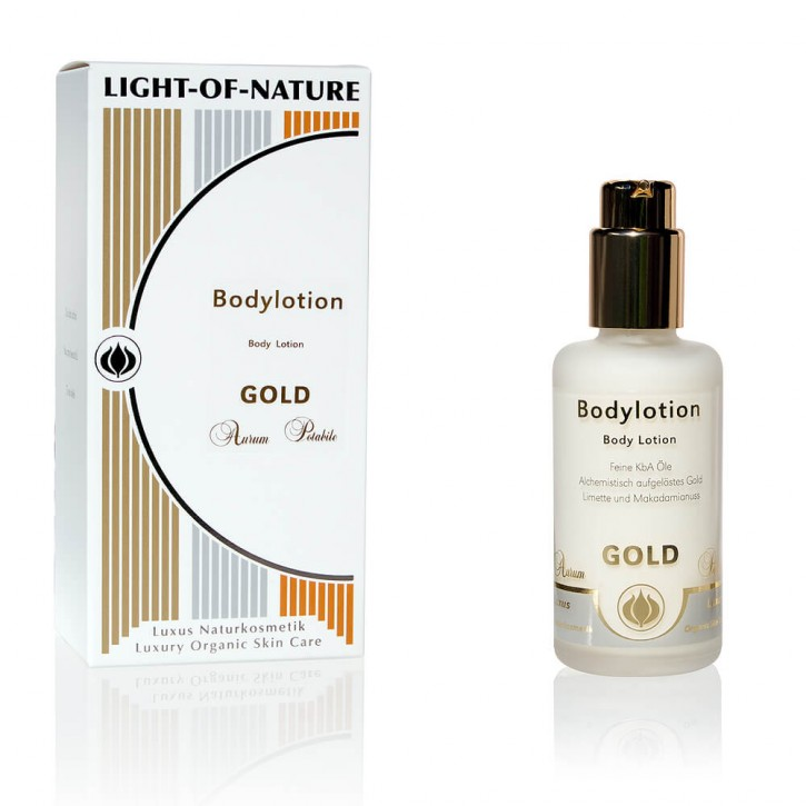 Light-of-Nature, Spagyrische Gold-Body-Lotion - 100 ml