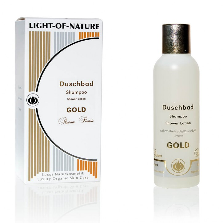 Light-of-Nature, Spagyrisches Gold-Shampoo-Duschbad - 150 ml