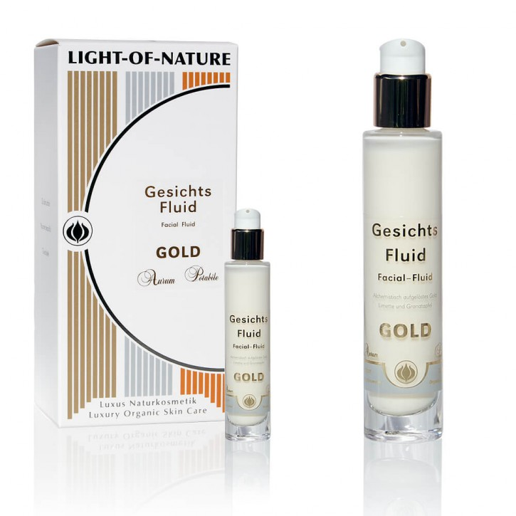 Light-of-Nature, Spagyrisches Gold-Fluid - aktivierend, anregend - 30 ml