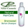 Princess Natur Cosmetic, Brennessel-Betain Shampoo - 200 ml