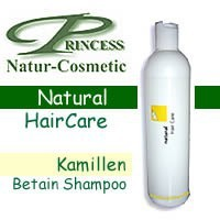 Princess Natur Cosmetic, Kamille-Betain Shampoo -200 ml