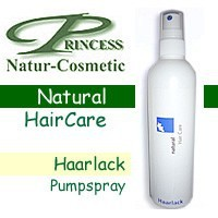 Princess Natur-Cosmetic, Haarlack Pumpspray extra stark - 200 ml