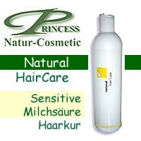 Princess Natur Cosmetic, Sensitive-Milchsäure Haarkur - 200 ml