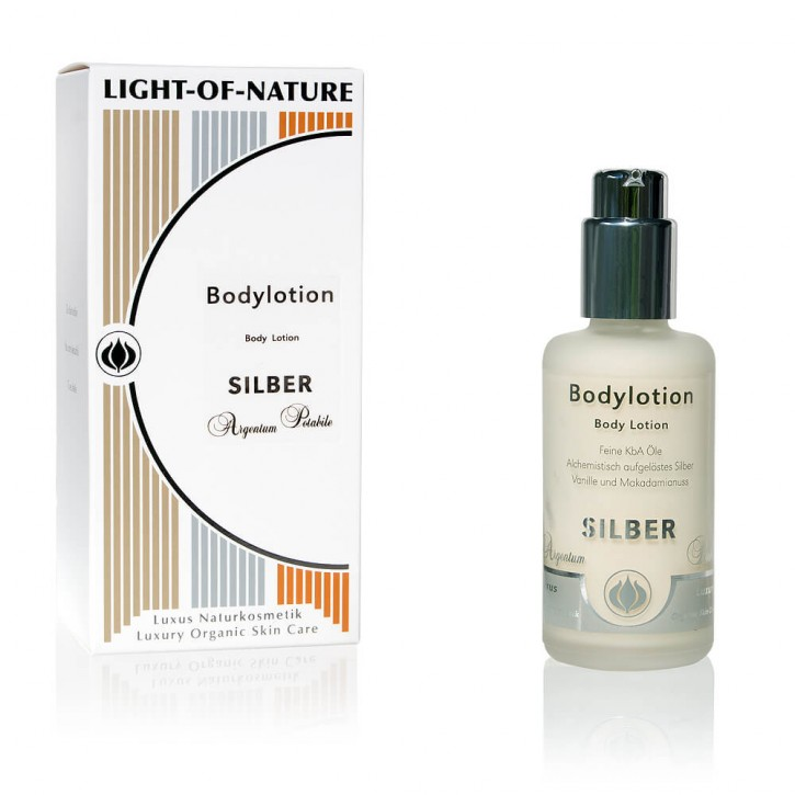 Light-of-Nature, Spagyrische Silber-Body-Lotion - 100 ml