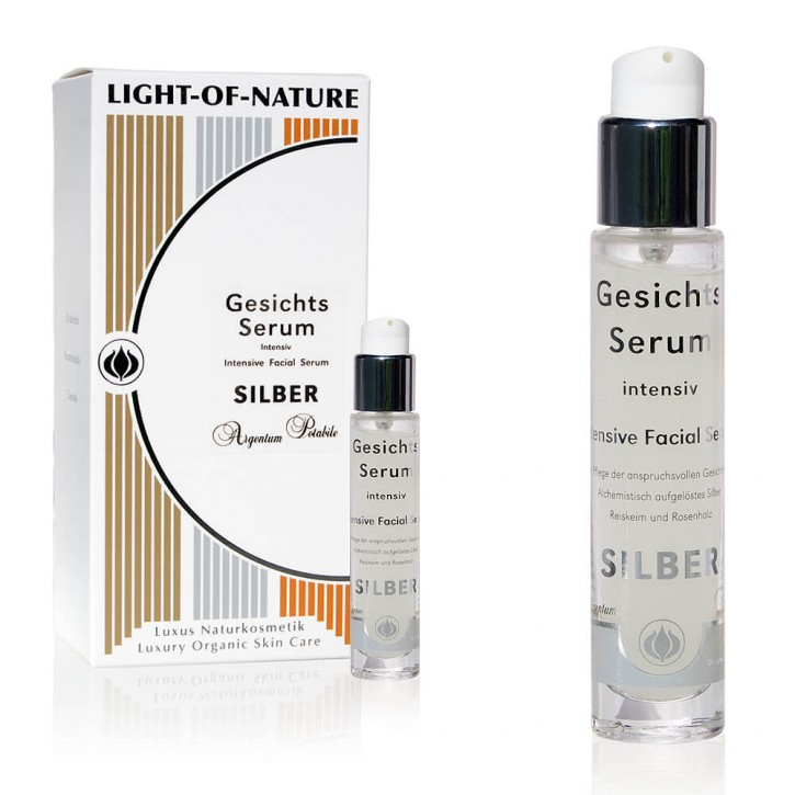Light-of-Nature, Spagyrisches Silber-Augenpartie-Serum - 15 ml