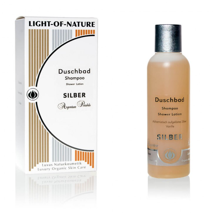 Light-of-Nature, Spagyrisches Silber-Shampoo-Duschbad - 150 ml