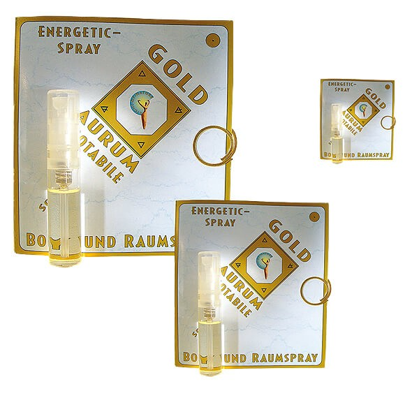 Light-of-Nature, Spagyrisches Energetic Spray Gold - 2 ml Set