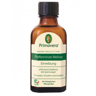 Primavera, Aroma Health Care Pfefferminze Melisse Einreibung - 50 ml