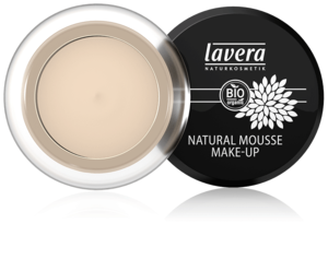 Lavera Naturkosmetik, NATURAL MOUSSE MAKE-UP - Ivory 01 - 15 g