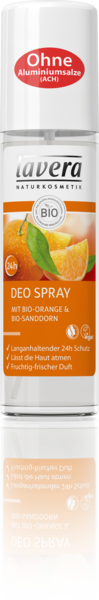 Lavera Naturkosmetik, Deospray Bio-Orange & Bio-Sanddorn - 75 ml