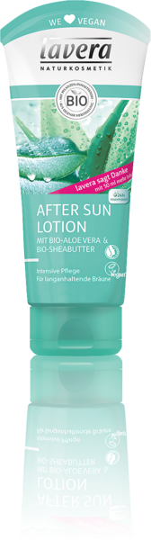 Lavera Naturkosmetik, After Sun Lotion Bio-Aloe Vera & Bio-Sheabutter - 200 ml