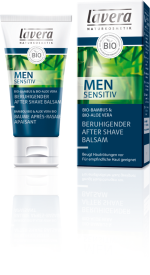 Lavera Naturkosmetik, Men sensitiv beruhigender After Shave Balsam Bio-Bambus - 50 ml