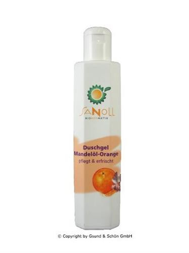 Sanoll, Duschgel Mandelöl-Orange - 200 ml